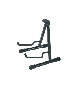SOPORTE METÁLICO PARA GUITARRA ACÚSTICA / SEMI-PLEGABLE / NEGRO / MADE IN USA