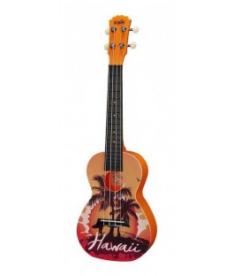 UKELELE CONCIERTO KORALA POLYCARBONATE SERIES 13 / HAWAII ORANGE