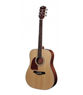 RICHWOOD DREADNOUGHT / TAPA MACIZA / CEJUELA & SILLETA NUBONE / ACABADO NATURAL EN BRILLO
