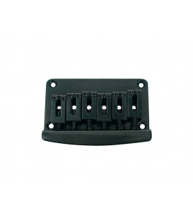 PUENTE-CORDAL PARA GUITARRAS TIPO STRATOCASTER / NEGRO / PITCH 10,5mm