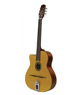 RICHWOOD HOT CLUB JAZZ GUITAR RM-70L-NT / ACABADO NATURAL / ZURDOS